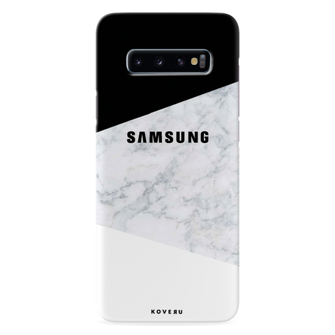White Marble Cover Case for Samsung Galaxy S10 Plus