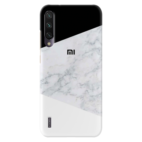 White Marble Cover Case for Redmi A3