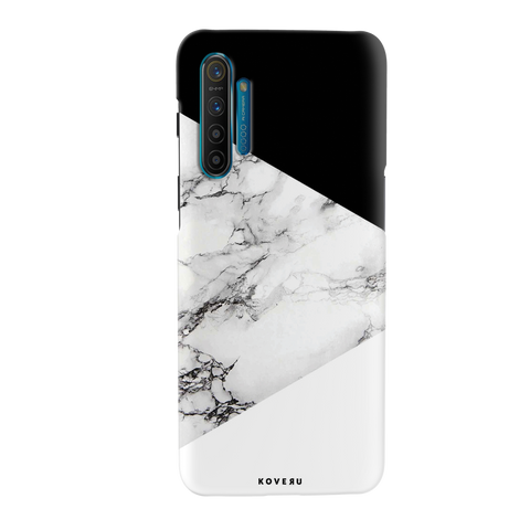White Marble 2 Cover Case for Cover Case for Realme XT
