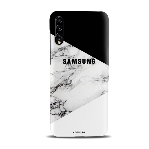 Black and white Marble Cover Case for Samsung Galaxy A50S