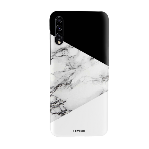 White Marble 2 Cover Case for Cover Case for Samsung Galaxy A70S