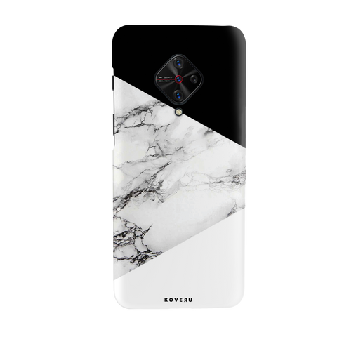 White Marble 2 Cover Case for Cover Case for Vivo S1 Pro