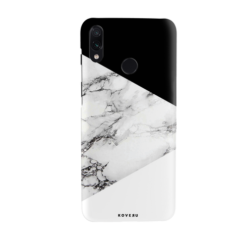 White Marble 2 Cover Case for Cover Case for Redmi Note 7