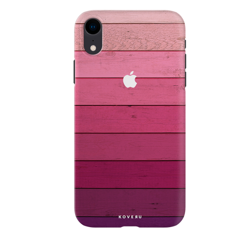 Shades of Pink Love Cover Case For iPhone XR