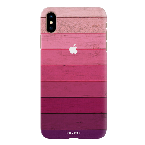 Shades of Pink Love Cover Case For iPhone XS Max