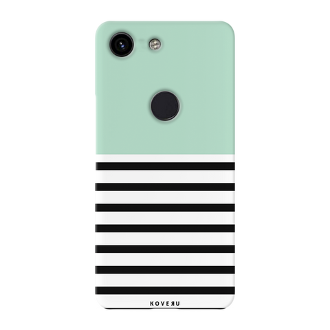 Strips of Green Cover Case for Google Pixel 3A