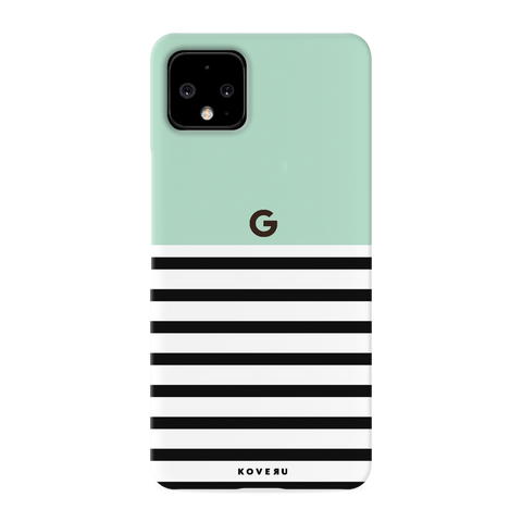Stripes on Green Cover Case for Google Pixel 4 XL