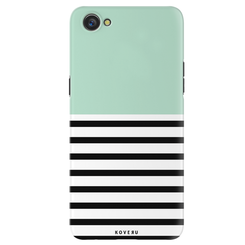 Strips of Green Cover Case for Oppo A3
