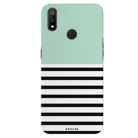 Strips of Green Cover Case for Realme 3 Pro