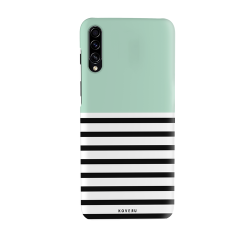 Strips of Green Cover Case for Samsung Galaxy A70S