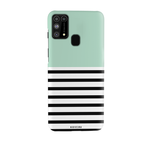 Stripes on Green Cover Case for Samsung Galaxy M31