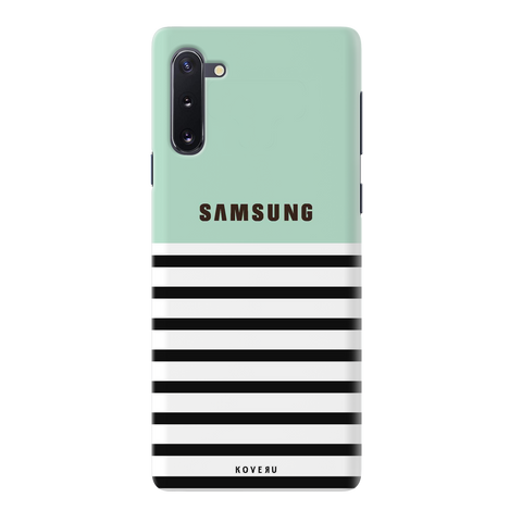 Stripes on Green Cover Case for Samsung Galaxy Note 10