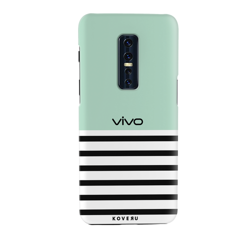Stripes on Green Cover Case for Vivo V17 Pro
