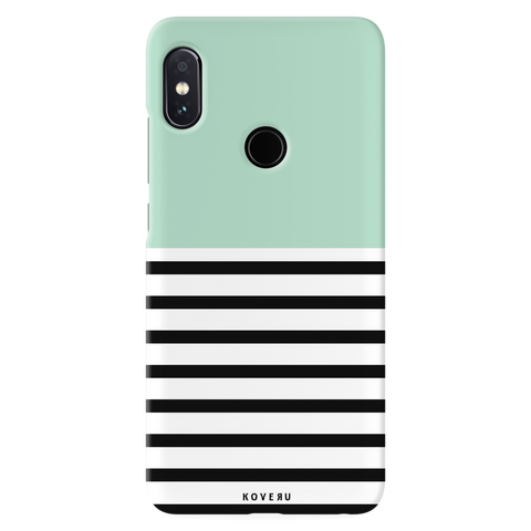 Strips of Green Cover Case for Redmi Note 5 Pro