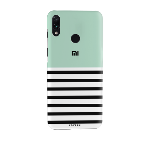 Stripes on Green Cover Case for Redmi Note 7 Pro