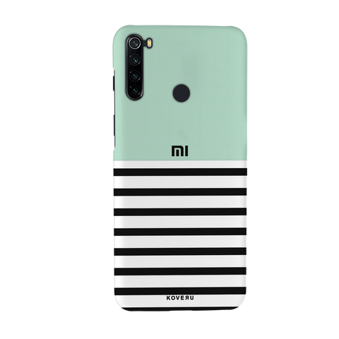 Stripes on Green Cover Case for Redmi Note 8