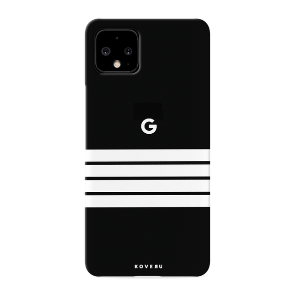 White Stripes Cover Case for Google Pixel 4 XL