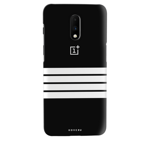 White Stripes Cover Case for OnePlus 7