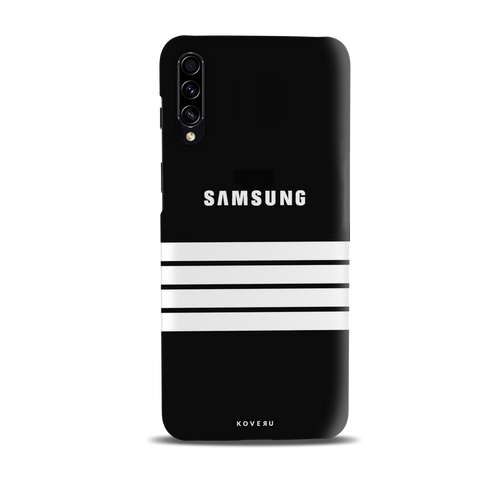 White Stripes Cover Case for Samsung Galaxy A30S