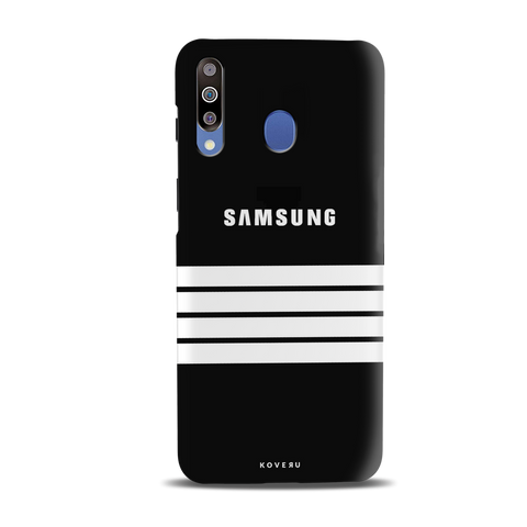 White Stripes Cover Case for Samsung Galaxy M30