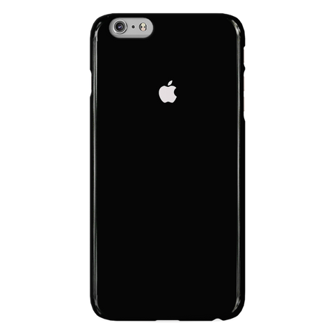 Jet Black Cover Case For iphone 6/6S Plus