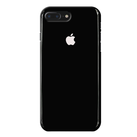 Jet Black Cover Case For iphone 7/8 Plus