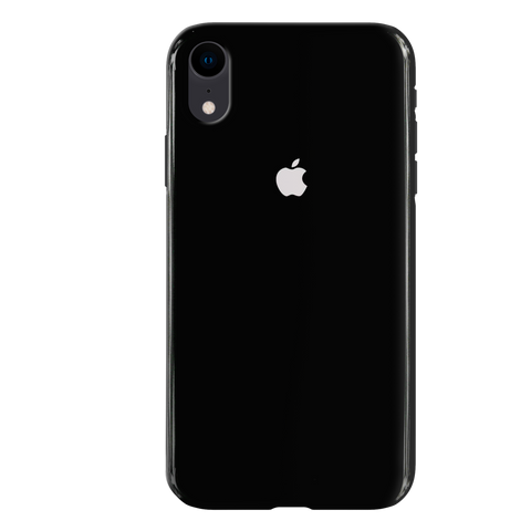 Jet Black Cover Case For iphone XR