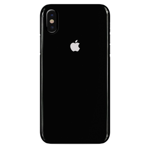 Jet Black Cover Case For iphone XS
