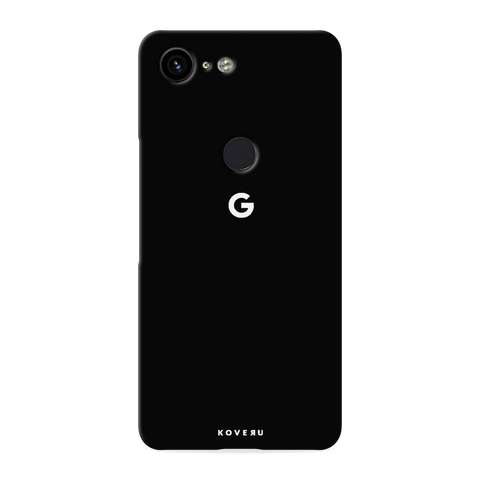 Jet Black Cover Case for Google Pixel 3 XL