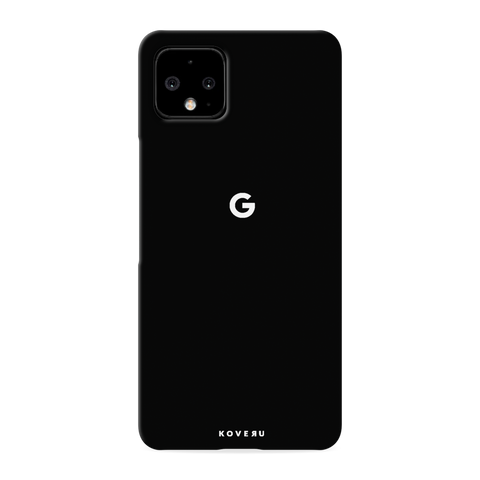 Jet Black Cover Case for Google Pixel 4 XL