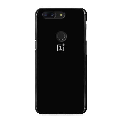 Jet Black Cover Case For One Plus 5T