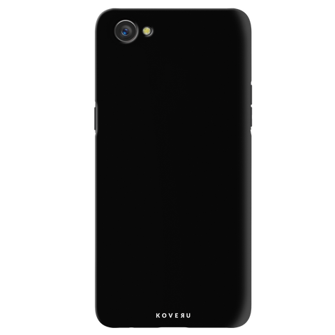 Jet Black Cover Case for Oppo A3