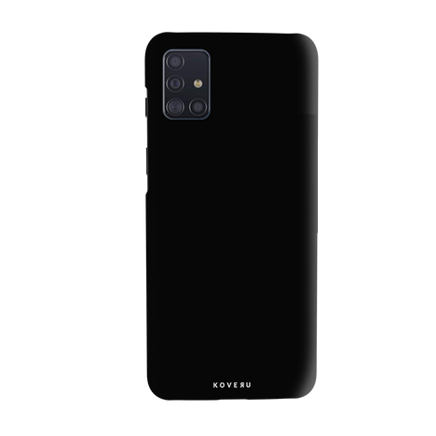 Jet Black Cover Case for Samsung Galaxy A51