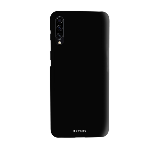 Jet Black Cover Case for Samsung Galaxy A70S