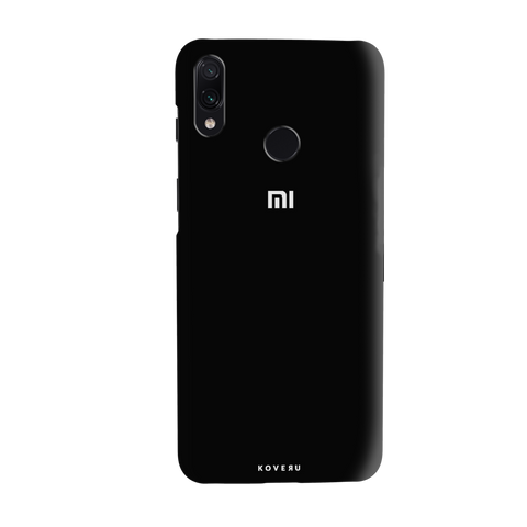 Jet Black Cover Case for Redmi Note 7 Pro