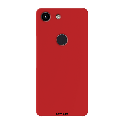 Blood Red Cover Case for Google Pixel 3A