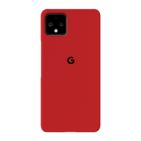 Blood Red Cover Case for Google Pixel 4