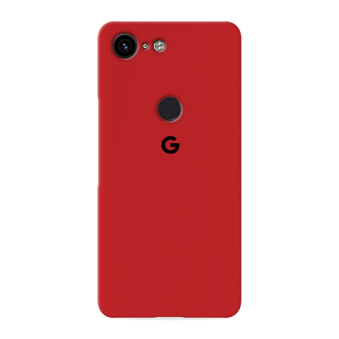 Blood Red Cover Case for Google Pixel 3 XL