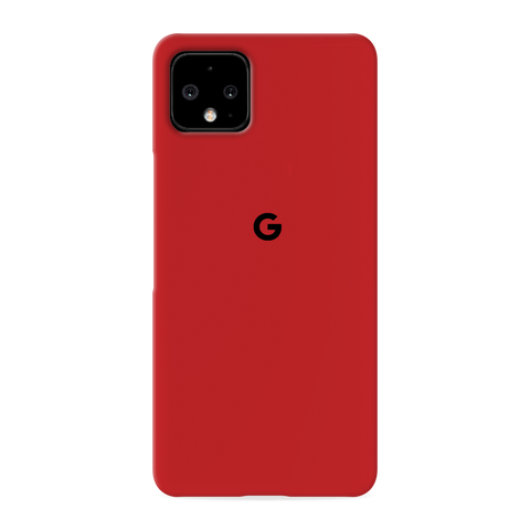 Blood Red Cover Case for Google Pixel 4 XL