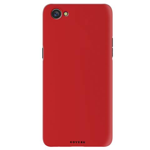 Blood Red Cover Case for Oppo A3