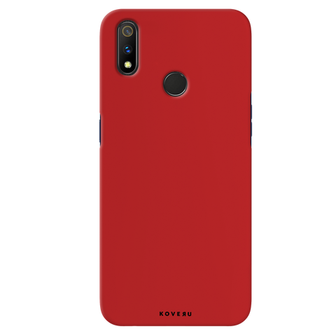 Blood Red Cover Case for Realme 3 Pro
