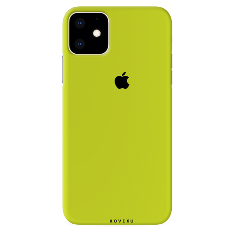 Neon Back Cover Case for iPhone 11