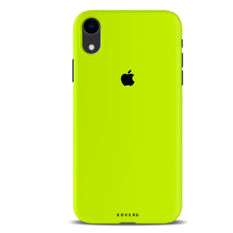 Neon Back Cover Case for iPhone XR