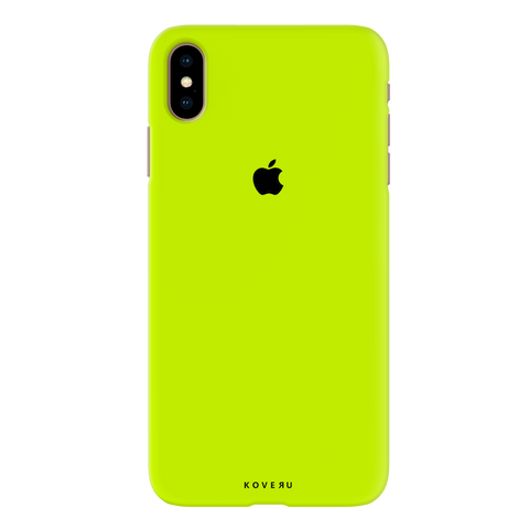 Neon Back Cover Case for iPhone XS Max