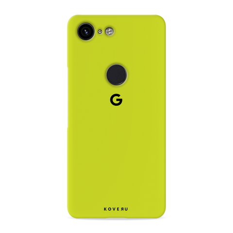 Neon Back Cover Case for Google Pixel 3