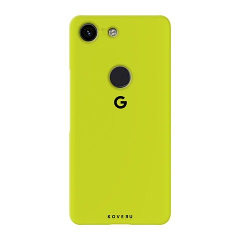 Neon Back Cover Case for Google Pixel 3A