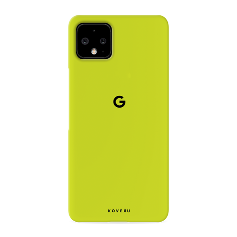 Neon Back Cover Case for Google Pixel 4