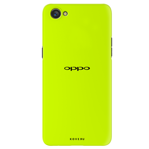 Neon Back Cover Case for Oppo A3