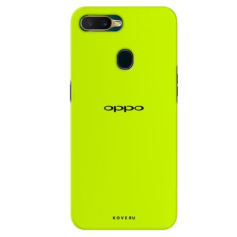 Neon Back Cover Case for Oppo A7