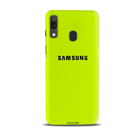 Neon Back Cover Case for Samsung Galaxy A20